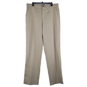 Adidas Climalite Stretch Golf Pants Mens 36x35 Tan